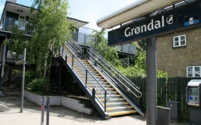 Grøndal Station painted with MonoGuard