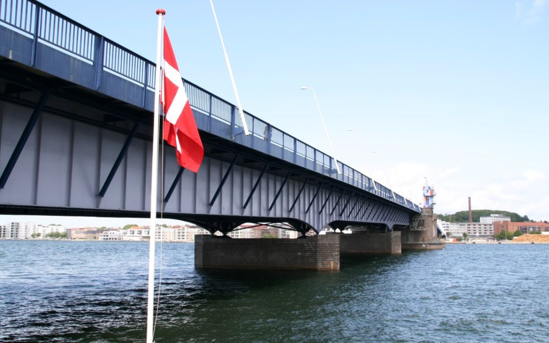 Limfjord Bridge is painted with Antiox